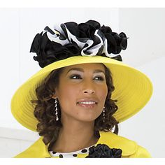 womens fancy stylish hats | Marcella Hat: Gorgeous hat looks truly elegant with Marcella Skirt ...