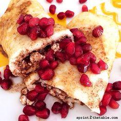 Stuffed French Toast Egg Wrap #glutenfree #stevia #breakfast