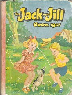 JACK AND JILL ANNUAL BOOK 1957 | eBay