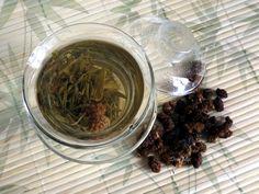 zielona herbata z owocem morwy