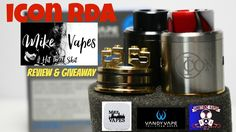ICON RDA REVIEW & Giveaway BY Vandyvape & Mike Vapes