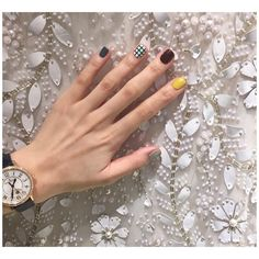 Pin by Bianca Napolitano on ᴺᴬᴵᴸ ᴬᴿᵀˢ Trendy Nails, Cute Nails, Hair And Nails, My Nails, Fall Nails, Korean Nail Art, Short Nails Art, Beautiful Nail Designs, Creative Nails