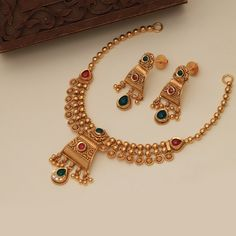 Get In Touch With us on Gold Earrings Designs, Gold Jewellery Design, Necklace Designs, Handmade Jewellery, Antique Jewellery, Gold Necklace Simple, Gold Jewelry Simple, Necklace Set, My Collection