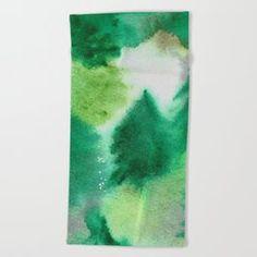 Forest Blanket Beach Towel