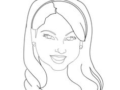 Shake It Up Characters Coloring Page For Teenage Girls Famous