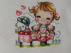 Soda - Bordados Cross Stitch Cards, Cross Stitch Flowers, Cross Stitching, Applique Patterns, Cross Stitch Patterns, Embroidery Art, Embroidery Designs, Diy And Crafts, Kawaii