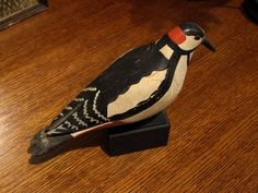 Folk Art Bird, Approx. 75 yrs old.