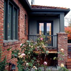 Red Brick Black Design Ideas Pictures Remodel And Decor