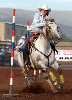 Utah Local News - Salt Lake City News, Sports, Archive - The Salt . Cowgirl And Horse, Cowboy Up, Cute Horses, Funny Horses, Western Games, Rodeo Events, Pole Bending, Nike Quotes, Rodeo Life