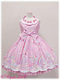 Angelic Pretty » Jumper Skirt » Milky Planet JSK