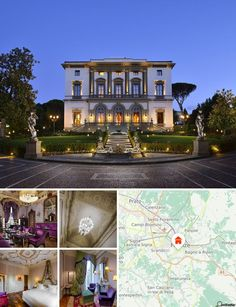 This tradition-rich hotel is situated in the most exclusive district of Florence where guests may enjoy a peaceful, relaxing, almost rural environment. There is a limousine service on offer to those wishing to explore this interesting city.