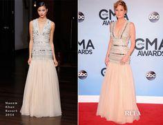 Jennifer Nettles In Naeem Khan – 2013 CMA Awards  http://www.jennifernettles.com/