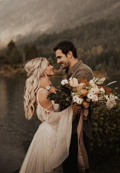 gold-creek-pond-elopement-48 Bohemian Wedding Inspiration, Elopement Inspiration, Boho Wedding, Bohemian Style, Elopement Ideas, Dream Wedding, Wedding Day, Romantic Weddings, Destination Weddings