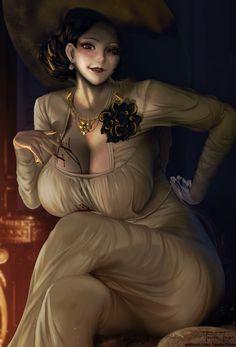 Resident Evil, Britain, Fan Art, Lady