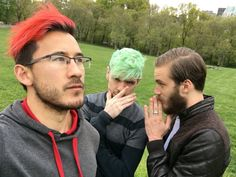 Markiplier / Mark Edward Fischbach / Jacksepticeye / Septiplier / Sean McLoughlin / Sean William McLoughlin