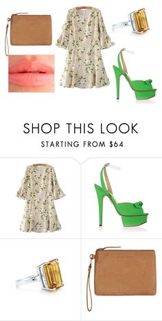 """""""i don't know how to love him"""" by mar-01 on Polyvore featuring moda, Charlotte Olympia, Tiffany & Co. y Status Anxiety"""