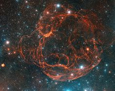 "While the fictionalized Star Trek account had the planet killer slowly destroying a distant solar system, this particular ""star eater"" Simeis 147, an ancient supernova remnant, is very real and still exists along the Auriga-Taurus border"
