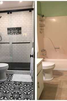 25 Perfect Colorful Bathroom Decor Ideas And Remodel For Summer Project. If you are looking for Colorful Bathroom Decor Ideas And Remodel For Summer Project, You come to the right place. Restroom Remodel, Diy Bathroom Remodel, Bathroom Renos, Bathroom Renovations, Bathroom Ideas, Remodled Bathrooms, Condo Bathroom, Bathroom Storage, Shower Ideas