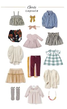 After trying my own capsule wardrobe I realized I should be doing this for my kids too.! They don't need much, and usually want to wear the same...