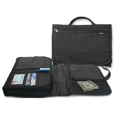 Tri-Fold-Deluxe-Organizer-Bible-Cover-Black-X-LARGE-Size-With-Handle-579177