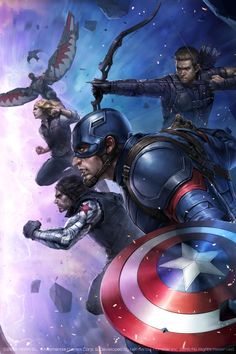 Civil War: Team Cap - JeeHyung Lee