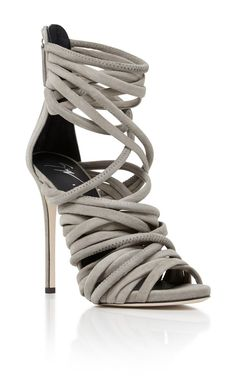 Wrap Heel by GIUSEPPE ZANOTTI Now Available on Moda Operandi                                                                                                                                                                                 More