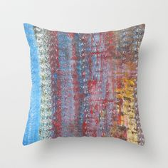 Journey Throw Pillow by Angela Bruno - $20.00
