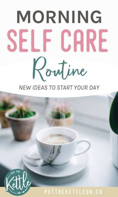 Morning Self Care Routine. New Ideas To Start Your Day - Need a self care routine for your morning? These 7 ideas are the perfect inspiration to start your - Wellness Tips, Health And Wellness, Mental Health, Health Tips, Take Care Of Yourself, Improve Yourself, Relax, Self Care Activities, How To Wake Up Early