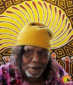 Australian Aboriginal Artist Linda Syddick Napaltjarri #aboriginalart #aboriginalpainting #australianart