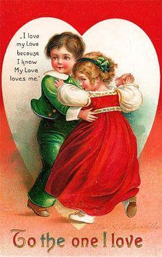 Cartes anciennes  de Saint Valentin