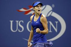 Cici Bellis: 15 year old who won a first round match in the US Open