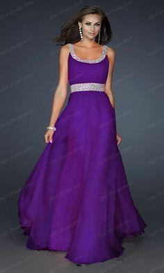 Neue Chiffon-Abend-formale Partei-Ballkleid-Brautjungfer Kleid Stock Größe  34-44 4117680aba