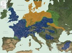 Map of Europe's Tribes http://www.historyfiles.co.uk/FeaturesEurope/Barbarian_Map52BC.htm