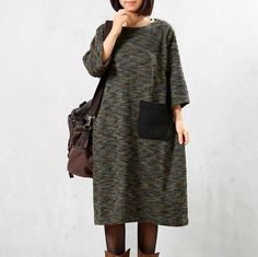 Autumn/Winter Knitted weater Dress