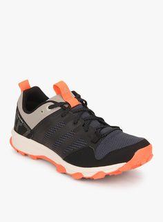 Adidas Kanadia 7 Tr Black Running Shoes     #Adidas, #Black, # Runningshoes