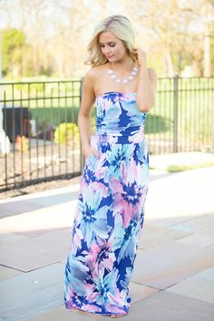 his bold maxi is sure to help you rock any event you attend!