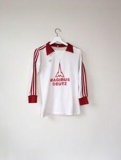 Bayern Munich 1978-1979 Rare Adidas Home Football Jersey Vintage Soccer  Shirt S