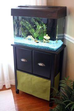 14+ Splendid DIY Aquarium Furniture Ideas To Beautify Your Home