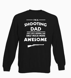 Awesome shooting dad #rifle gift #funny cool father mens sweater #ladies jumper s,  View more on the LINK: 	http://www.zeppy.io/product/gb/2/182424681422/