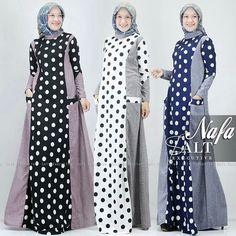 32 Trendy Ideas For Sewing Dress Elegant Modern Hijab Fashion, Muslim Women Fashion, Abaya Fashion, Fashion Dresses, Comfy Dresses, Modest Dresses, Elegant Dresses, Casual Dresses, Plus Zise