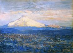Mount Hood | Frederick Childe Hassam | oil painting