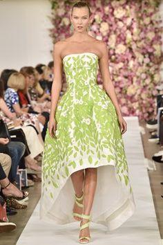 Oscar de la Renta womenswear, spring/summer 2015, New York Fashion Week