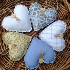 A personal favourite from my Etsy shop https://www.etsy.com/uk/listing/211367268/lavender-heart-sachets-made-in-liberty