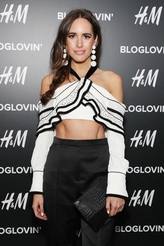 Louise Roe Photos Photos - TV personality Louise Roe attends the Blog Lovin' Awards at Industria Superstudio on September 12, 2016 in New York City. - Blog Lovin' Awards