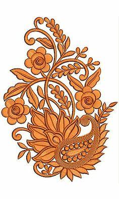 Embroidery Design | African Kaftan Dress