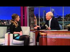 Late Show with David Letterman - Jennifer Lawrence 01-15-13 - YouTube