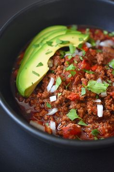 instant pot ground beef chili by michelle tam http nomnompaleo com ground