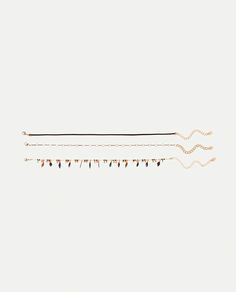 Image 1 of PACK OF 3 FEATHER CHOKERS from Zara