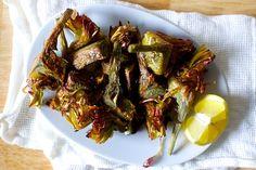 crispy frizzled artichokes | smittenkitchen.com
