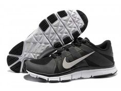 bd36c990dd90 Latest Nike Free Trainer 5.0 Mens Black Silver Outlet Black Running Shoes